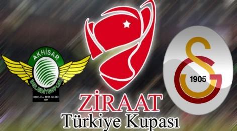Akhisar Galatasaray maçı canlı izle - ZTK Çeyrek final maçı ATV canlı yayın