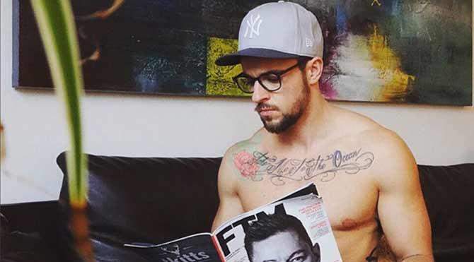 Trans erkek dergi kapağında yer alacak