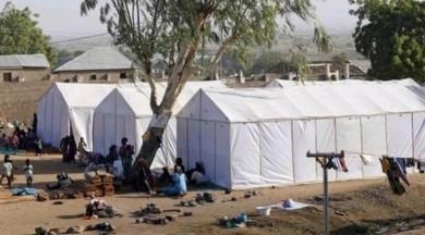 Sığınmacı kampında katliam! 56 ölü