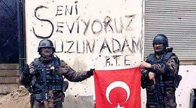 Özel harekatçılardan Erdoğan'a mesaj