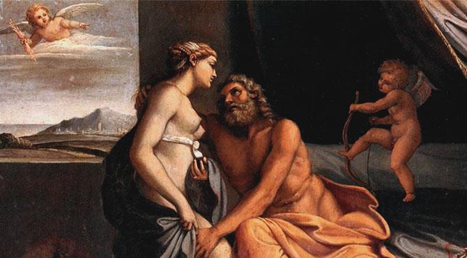 Eski Roma'da 14 Şubat günü bütün Roma halkı için önemli bir gündü. Çünkü bu günde Roma tanrı ve tanrıçalarının kraliçesi olan Juno'ya duyulan saygıdan ötürü tatil yapılırdı
