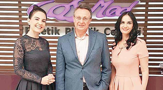 Prof. Dr. Nazım Çerkeş estetikte en son yöntemleri anlattı