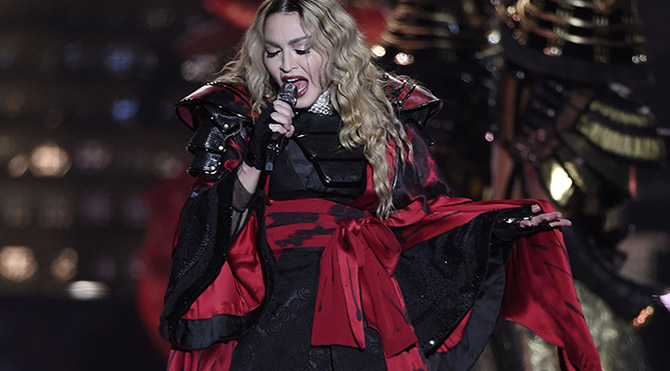 Rusya'nın telafisi Madonna