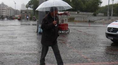 İstanbul'da yağmur alarmı
