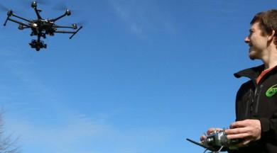 Drone uçurmaya ilk yasak geldi!