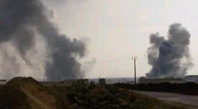 Türkiye Azez'deki YPG mevzilerini bombaladı