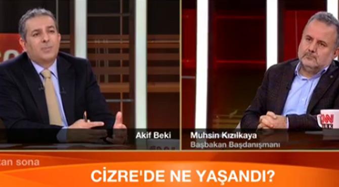 Başbakanlık başdanışmanından Cizre itirafları