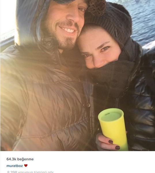 Foto: Sosyal medya - Murat Boz ve Aslı Enver aşkı böyle ortaya çıktı