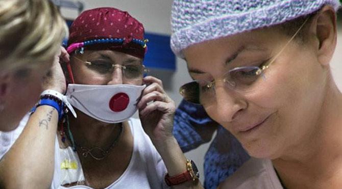 Foto: Sosyal medya - Ünlü isim kanser tedavisi görüyor