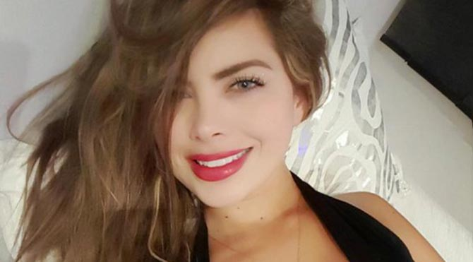 Yeimi Rey, estetik yaptırmadan önce çekilen resimleri manken arkadaşı Carolina Munoz tarafından internette paylaşılınca öfkeden çılgına döndü.