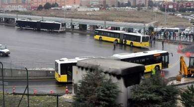 Metrobüse binenlere kötü haber