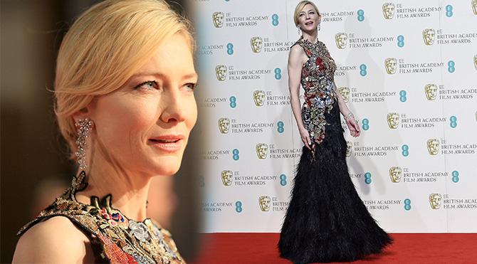 Cate Blanchett Bafta 2016 Foto: Reuters