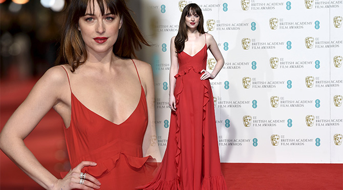 Dakota Johnson Bafta 2016- Foto: Reuters
