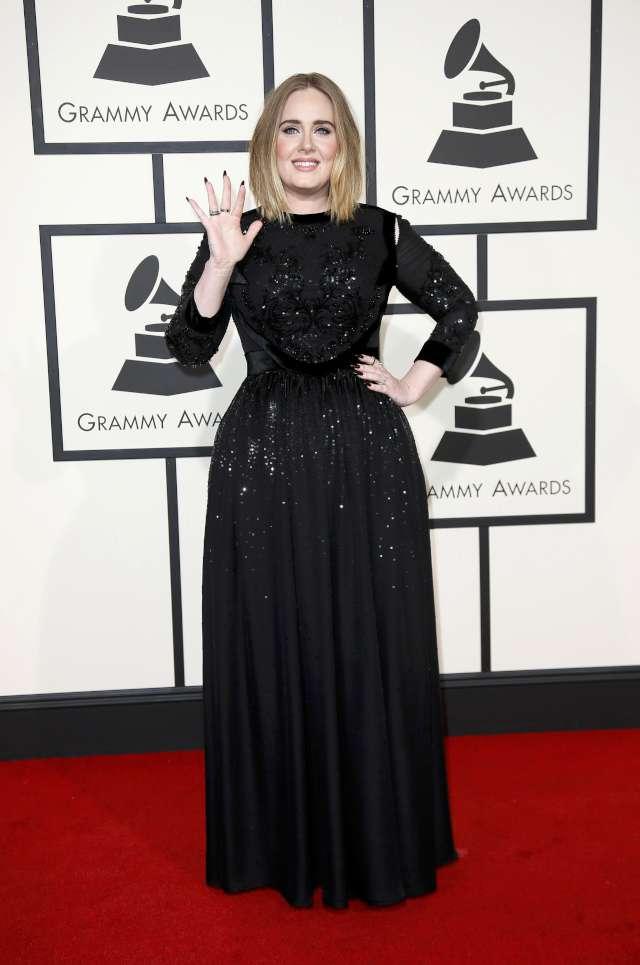 Adele- Grammy Ödülleri Foto: Reuters