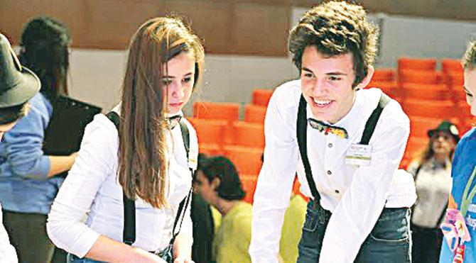 Genç mucitler İzmir'deydi