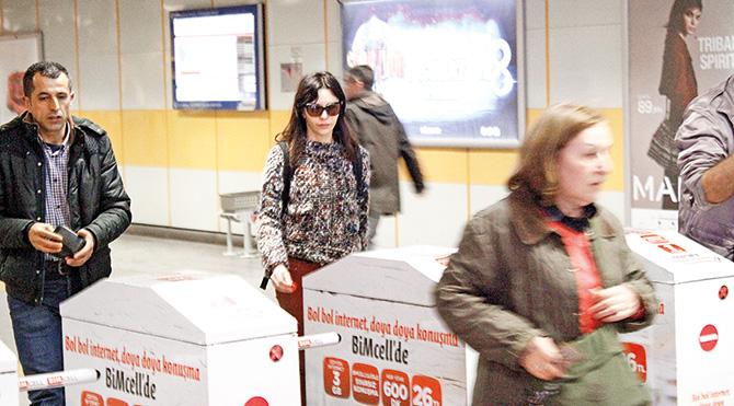 İstanbul Kart'ı olmayan oyuncu jeton aldı.