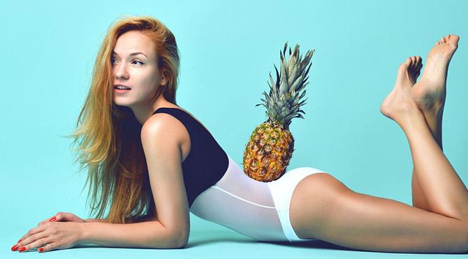 Zayıflamak için ananas