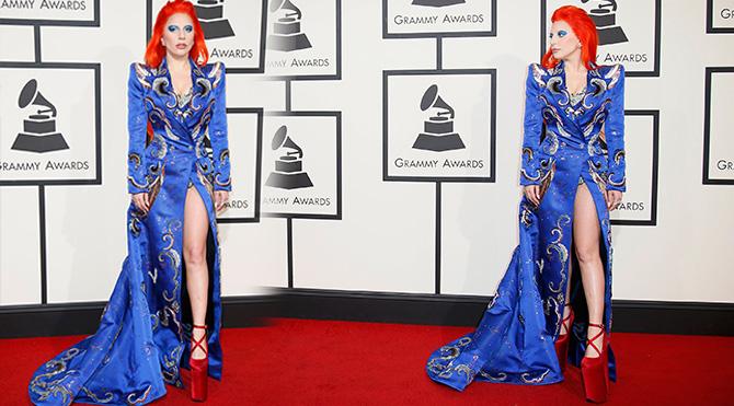 Lady Gaga Grammy Ödülleri 2016 Foto: Reuters