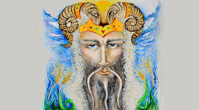 Mitolojiye göre Merkür yani Hermes; Zeus ile Maia'nın oğludur.