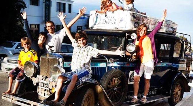 16 yıldır yollarda olan Arjantinli ailenin yeni adresi Türkiye!