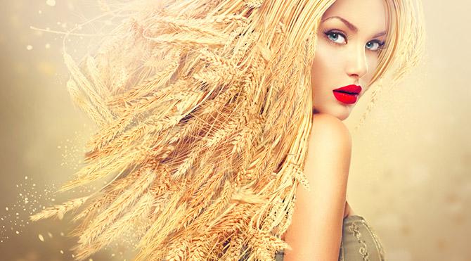 Saçları parlatan 9 besin