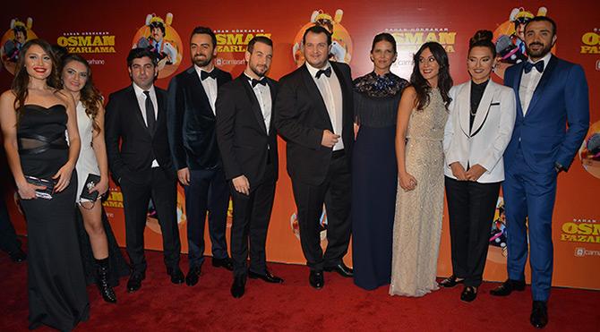 Şahan Gökbakar Osman Pazarlama filminin galasını yaptı