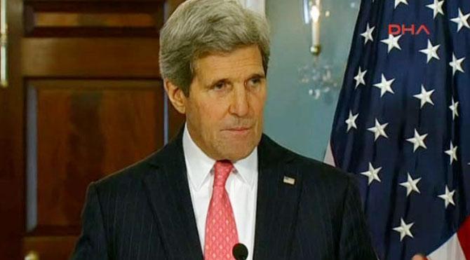 John Kerry'den taziye telefonu!