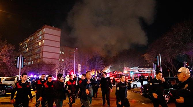 Ankara`daki saldırıda gözaltı sayısı 20`ye çıktı
