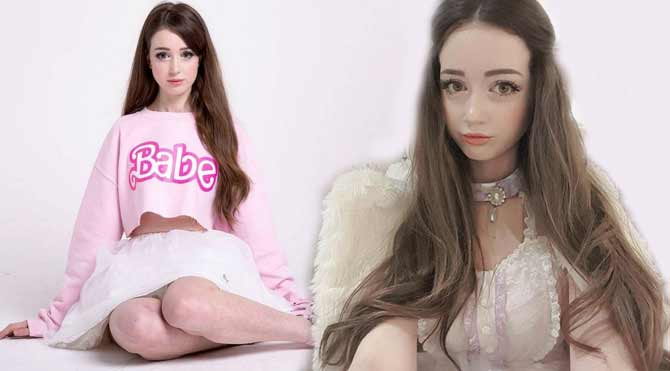 İngiltere'nin Barbie'si Hannah Gregory