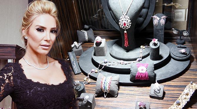 Işıl Reçber'in mücevher tasarımları hayran bıraktı