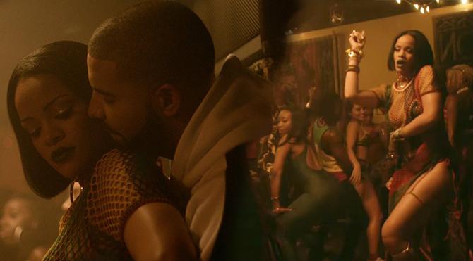 Rihanna yine çok ateşli