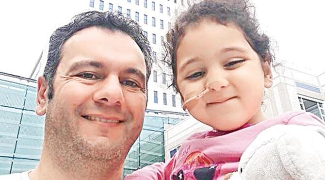 Bade'nin babası Muhammet Çakır, kampanyadan iyi haber bekliyor.