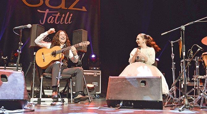 Caz festivalinde Sertab sürprizi