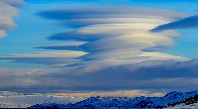 Kutup bölgesinin doğa fenomenleri görenleri şaşırtıyor
