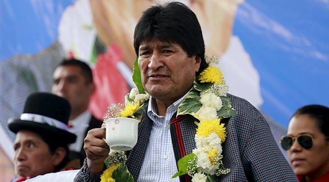 Bolivya'da dördüncü dönem devlet başkanlığına ret