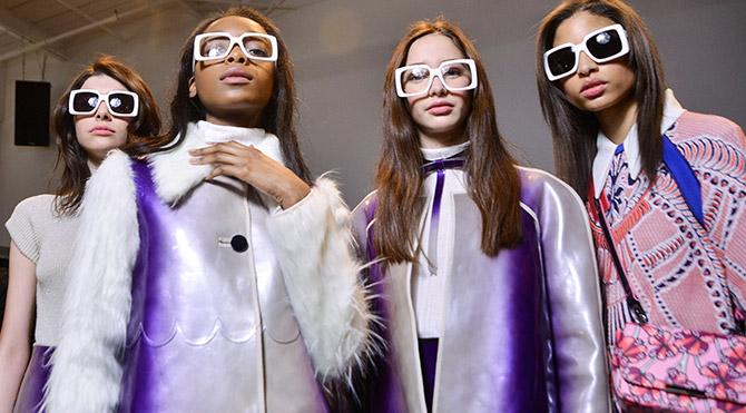 Gözlüklerde 70'ler modası