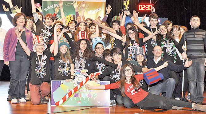 Genç mucitler 'çöpe çöple çözüm' arıyor