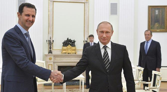 Esad'dan Putin'e ateşkes sözü