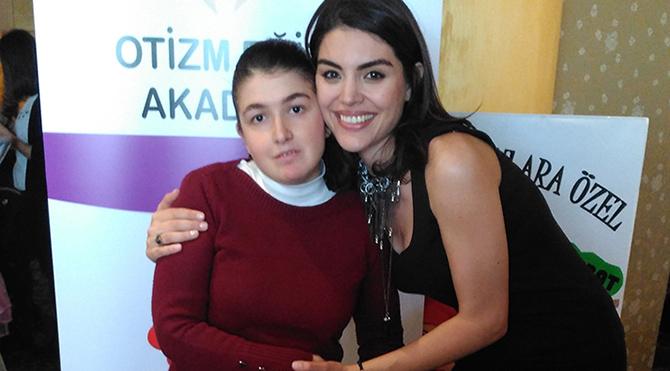 Gaye Turgut'tan 'Otizmli çocuklar'a destek