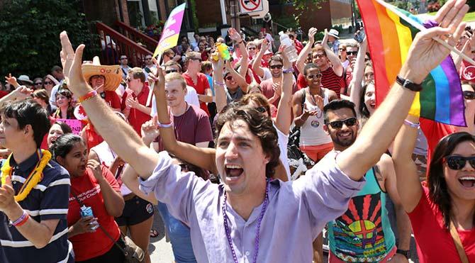 Kanada Başbakanı Trudeau, LGBT Onur Yürüyüşü'ne katılarak tarih yazacak