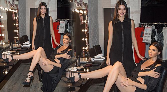 Kendall Jenner'ın heykeli yapıldı