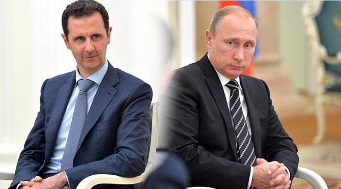 Putin ve Esad'dan IŞİD ve El Nusra ile mücadeleye devam kararı