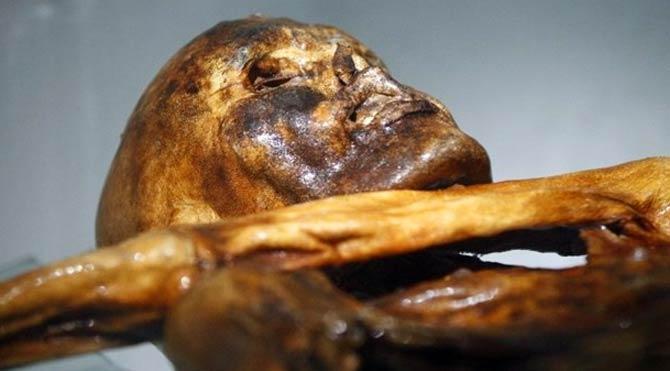 En eski mumya Ötzi kopyalandı