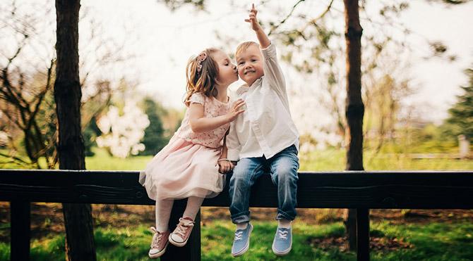 20 çocuktan 20 sevgi tarifi