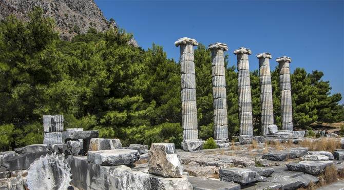 Magnesia Antik Kenti yine sulara gömüldü