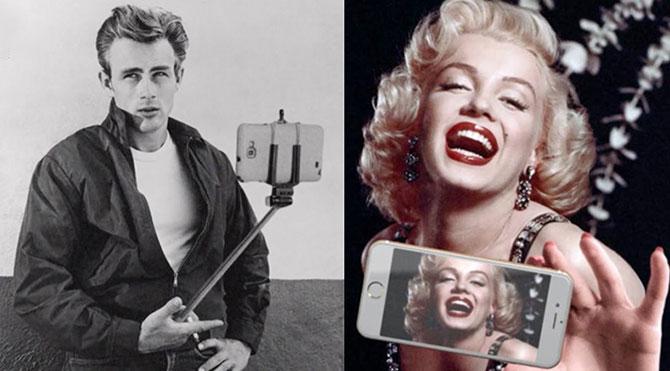Marilyn Monroe'nun Instagram'ı olsaydı?
