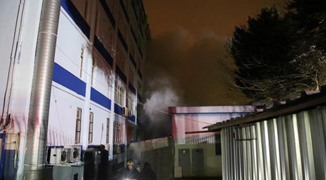 İstanbul'da okul bahçesinde patlama!