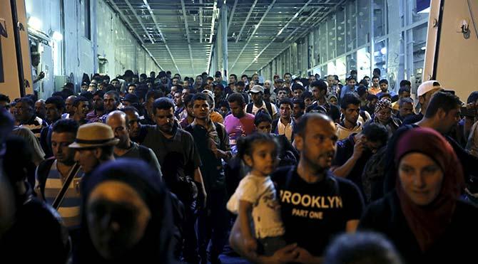 Almanya'da 130 bin sığınmacı kayıp