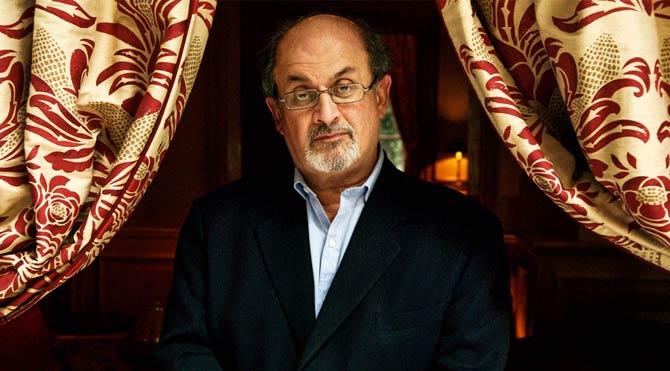 Başına ödül konulan Salman Rushdie'ye destek