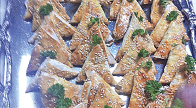 Haftanın yemeği: Muska Böreği
